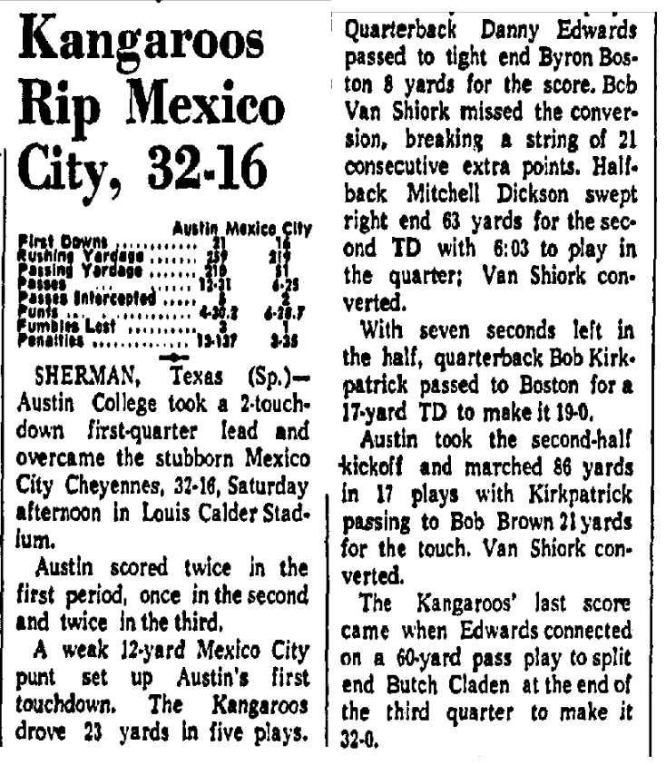 a mexico roo tale 1970s House s thelab bleacherreport after the massacre 1968 mexico city american football
